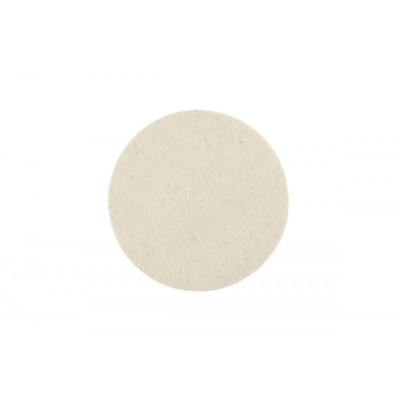 Фетровый полировальный диск Mirka 77 мм. белый