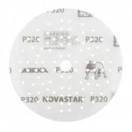 Шлифовальные круги Mirka Novastar Ø 125 мм P120 (89 отверстий)