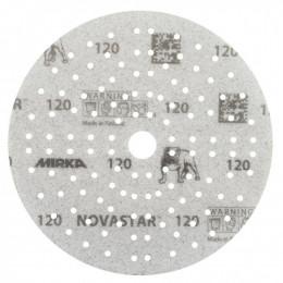 Шлифовальные круги Mirka Novastar Ø 150 мм P120 (121 отверстие)